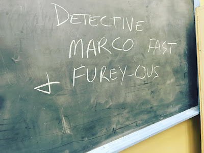 """PLL bts 7x14 """"Power Play"""" chalkboard """"Detective Marco Fast + Furey-ous"""""""