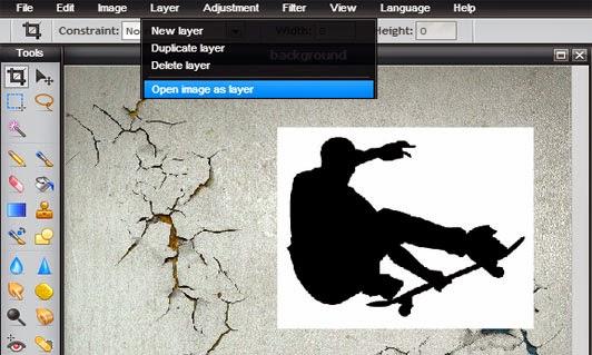Cara Mudah Membuat Bayangan atau Refleksi Foto