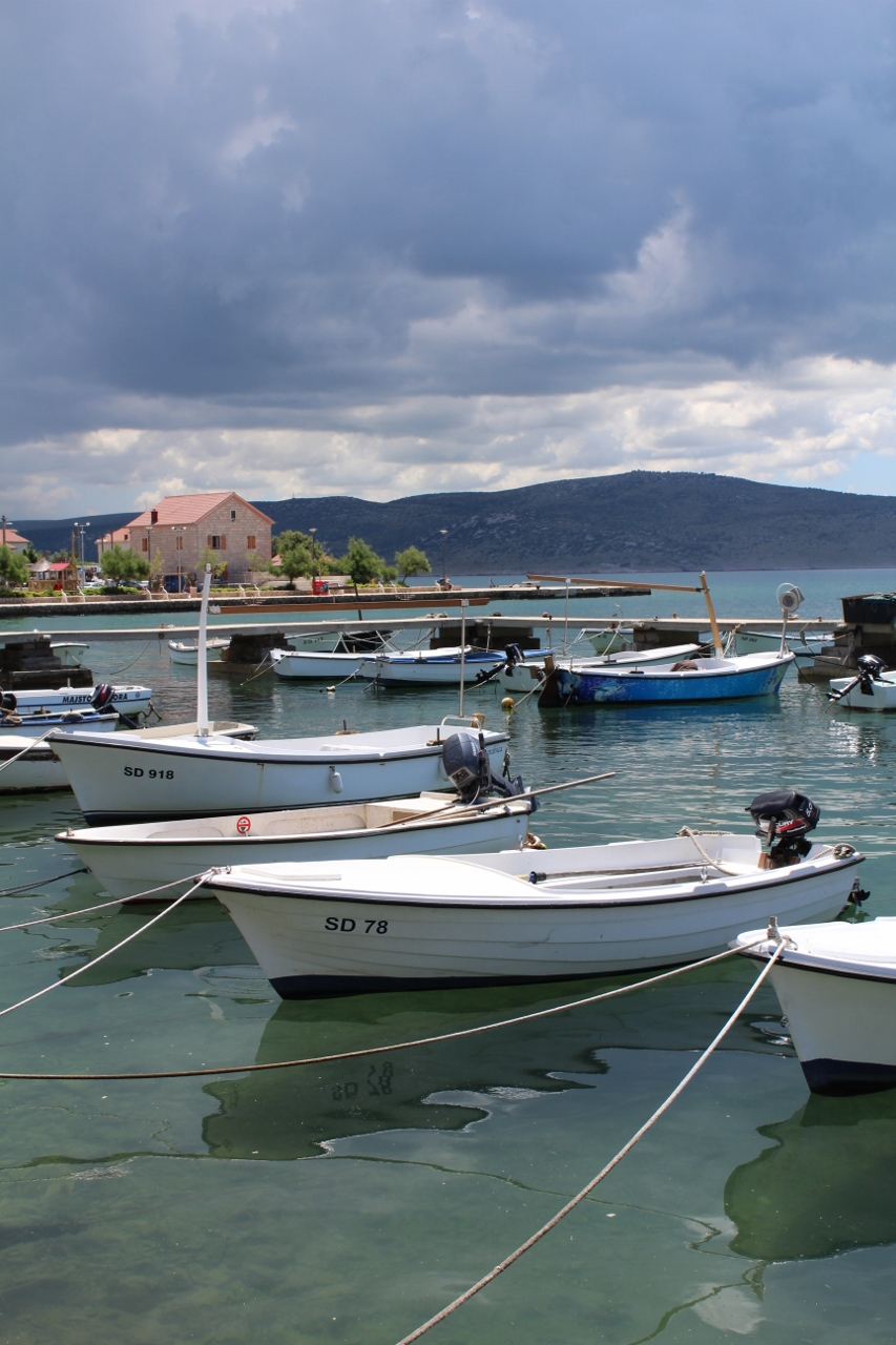 Boats at Starigrad-Paklenica, Croatia
