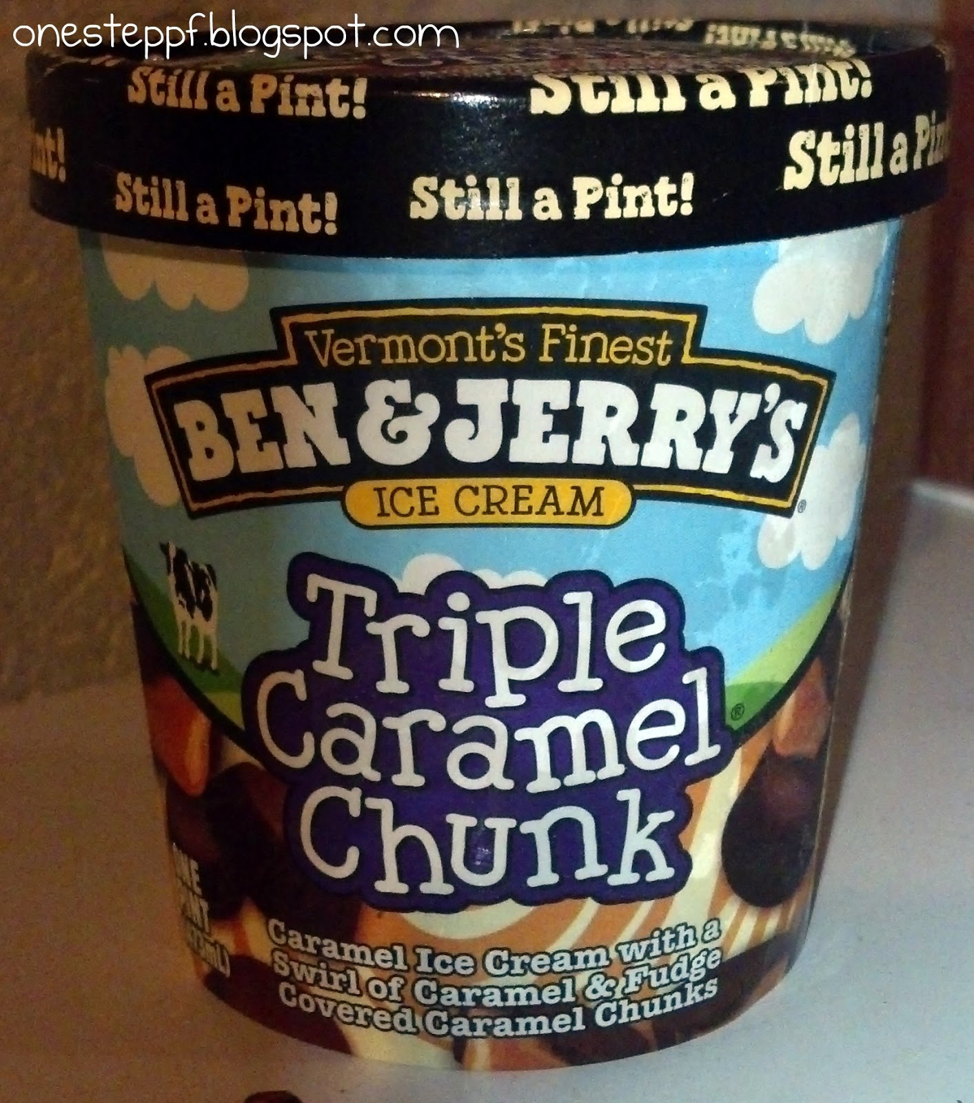 One Step at a Time Ben Jerry39s Triple Caramel Chunk An