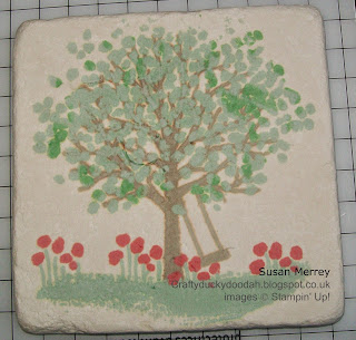 Stampin' Up! Independent Demonstrator Made by Susan Merrey Craftyduckydoodah Sheltering Trees