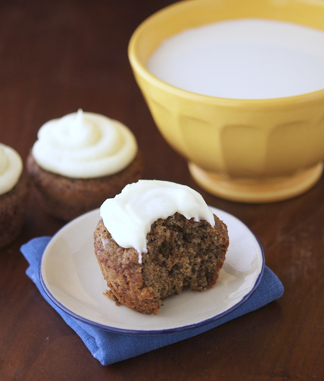 Black Carrot Cake with Greek Yogurt Frosting