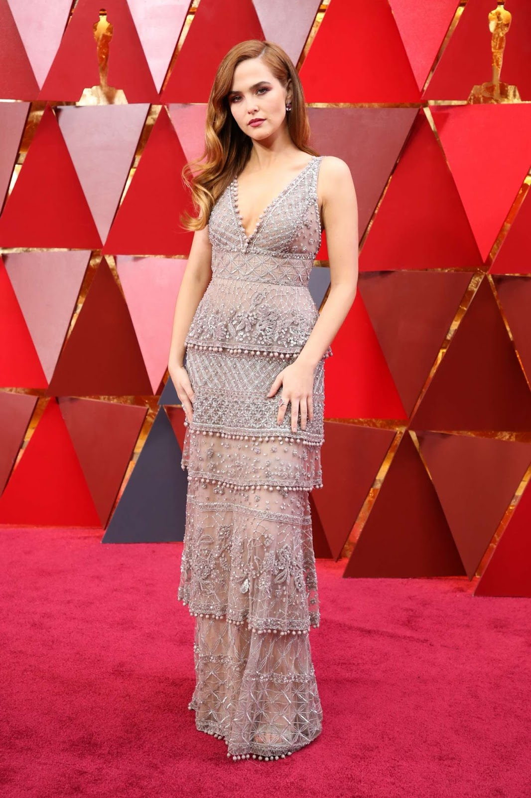 Zoey Deutch – 2018 Academy Awards in Los Angeles