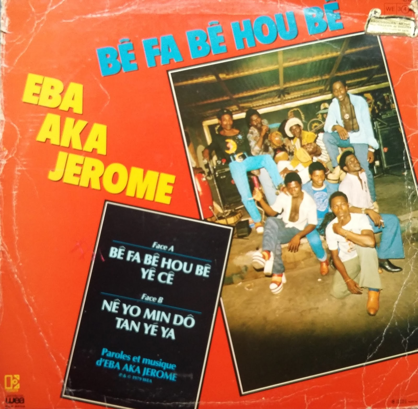 Eba Aka Jerome Et Le Sanwi Star Wonderful Of Africa Vol 1 Trahison