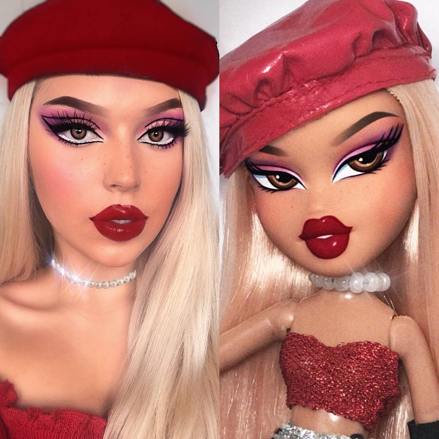 #bratzchallenge desafio do instagram