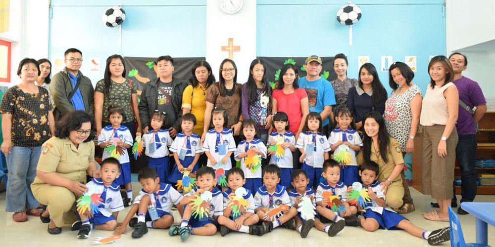 Kegiatan Hari Pertama Masuk TK Kalam Kudus Surakarta