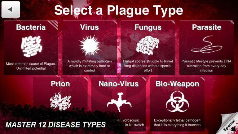 تحميل لعبة plague inc للايفون