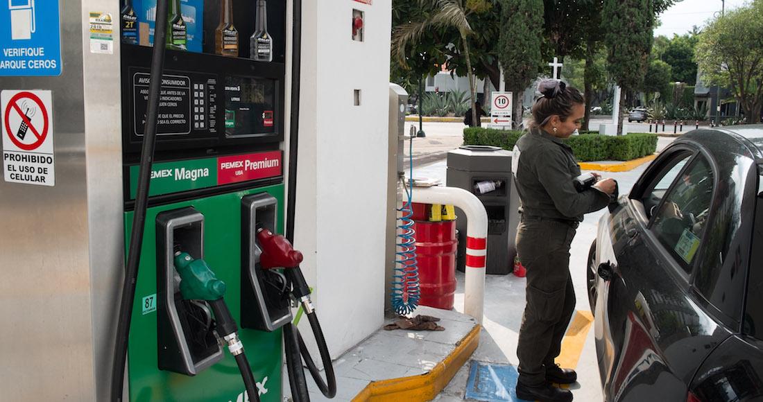 La gasolina Premium supera los 21 pesos en despachadoras.