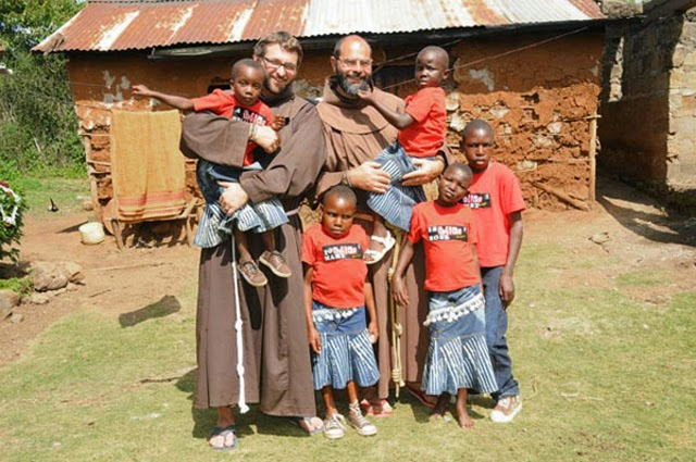 fra Miro Babić Mali dom Afrika small home St. Francis mission Africa misionar