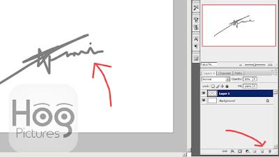 Cara Membuat Tanda Tangan dengan Photoshop - Hog Pictures
