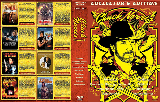 Capa DVD Chuck Norris Collection Volume 2