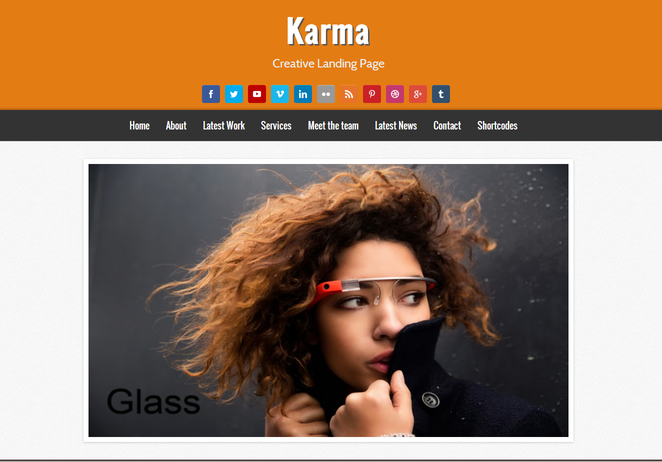 Karma Responsive Blogger Template Free Download