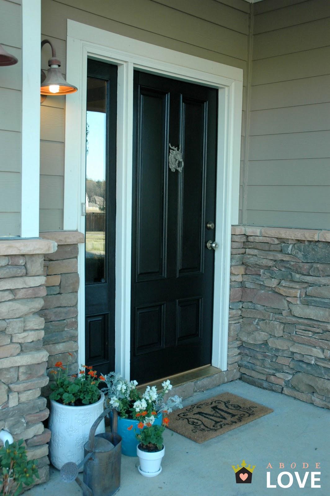 front doors creative ideas black exterior doors. Black Bedroom Furniture Sets. Home Design Ideas