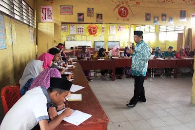 Kakan. Kemenag Tanjungbalai Jadi Narasumber PKR MAN Tanjungbalai