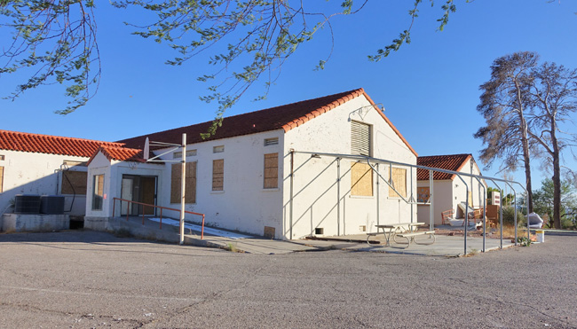 Historic Boulder City Hospital in Nevada