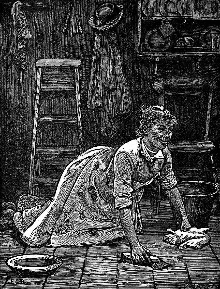 a Dalziel Brothers scrub woman with a smiling work ethic and positive attitude