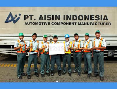 Lowongan Kerja Besar-Besaran Operator Produksi Lulusan Baru Min SMA SMK D3 S1  PT. Aisin Indonesia Automotive