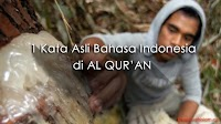 Subhanallah! 1 Kata di Al Quran ini Berasal dari Bahasa Asli Indonesia