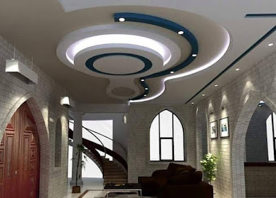 Gypsum board ceiling design POP false ceiling ideas for hall