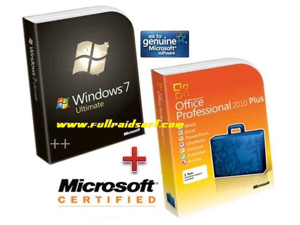 Download free windows 7 Ultimate with office 2010 32 bits