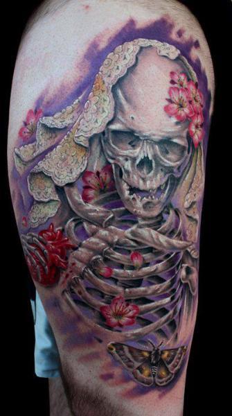 Tatuajes De La Santa Muerte Significado Y Su Historia Belagoria