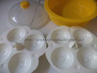 how to use a microwave idli container