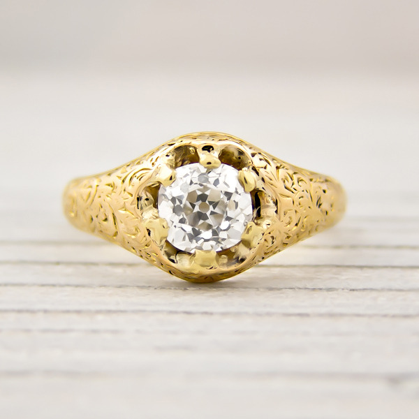 erstwhile jewelry antique victorian engagement ring 7946 - {Frosted Find}  Erstwhile Jewelry