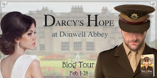 Blog Tour: Darcy's Hope at Donwell Abbey by Ginger Monette