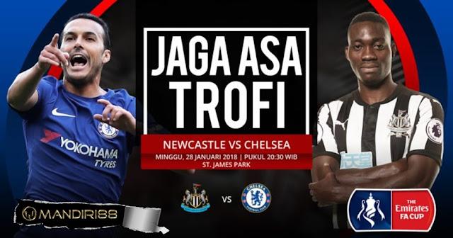 Prediksi Chelsea Vs Newcastle United , Minggu 27 January 2018 Pukul 02.45 WIB