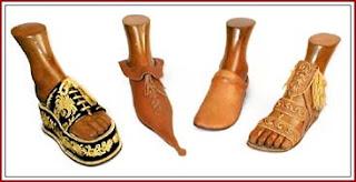 calzado antíguo