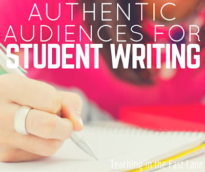 Do you struggle to find ways for students to share their writing with an authentic audience?