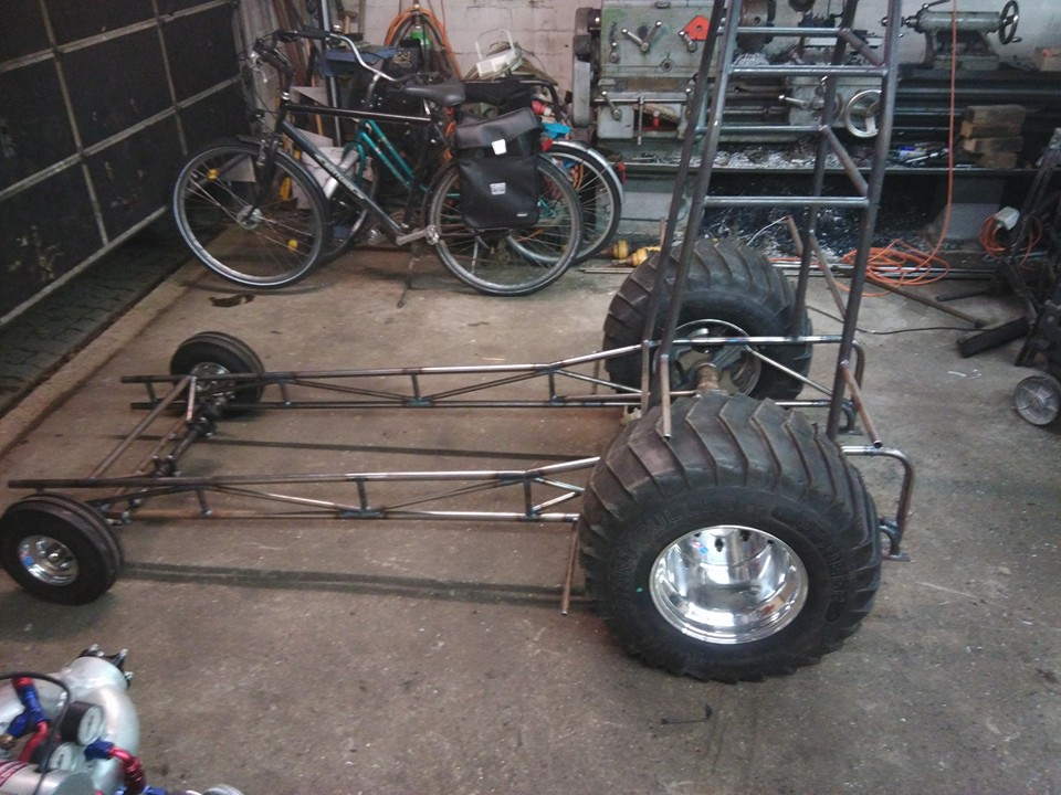 Tractor Pulling News First Pics And News Of The New Blown Madness 2 5
