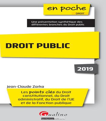 Livre Droit public en poche PDF
