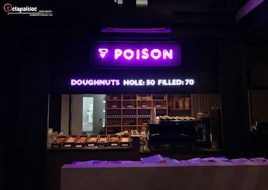 Poison Doughnuts - Highly Addictive Treats! | |foodfanaticph| by clapalisoc