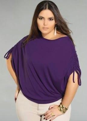 3aa5e1b30 Linda y a la moda!: blusas para gorditas