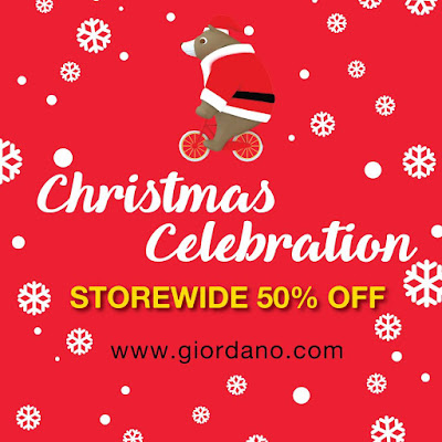 Giordano Malaysia Christmas Sale Discount Offer Promo