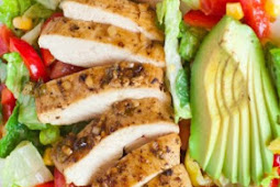 RECIPES GARLIC CHICKEN SALAD