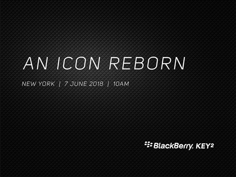 BlackBerry to launch the KEY2 with physical backlit keyboard on June 7!
