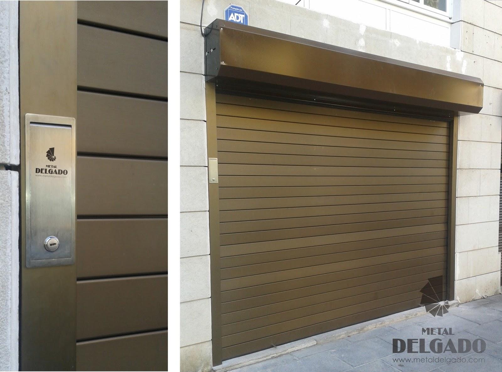 Puertas garaje tenerife puertas enrollables locales for Precio de puertas enrollables