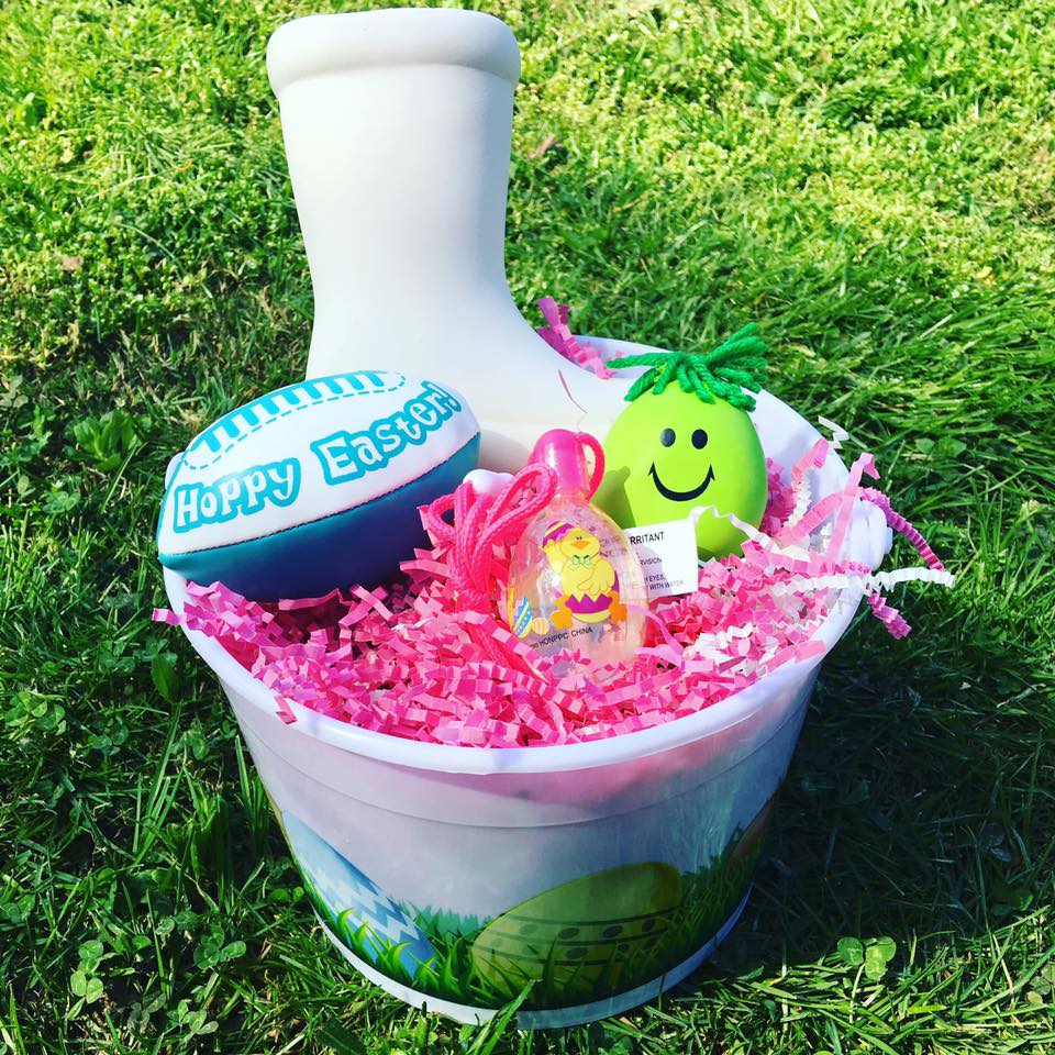Going goble mini easter buckets i ended up getting the bright easter buckets which come in sets of 6 for under 12 i got two orders so that we will have one for each child negle