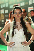 Meghana Gaur in a Deep Neck Sleeveless White Gown at IIFA Utsavam Awards 040.JPG