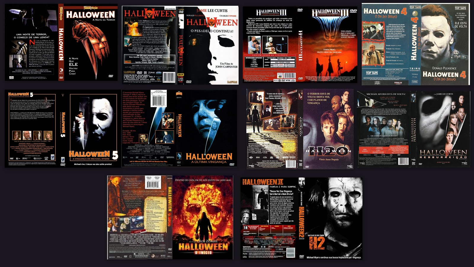 curiosidades do filme halloween a noite do terror medo b. Black Bedroom Furniture Sets. Home Design Ideas