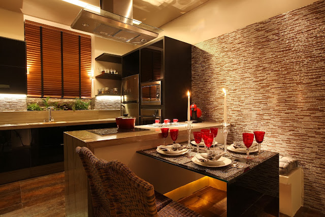 Cocinas modernas para espacios peque os modern kitchens decoraci n del hogar dise o de - Iluminacion en cocinas modernas ...
