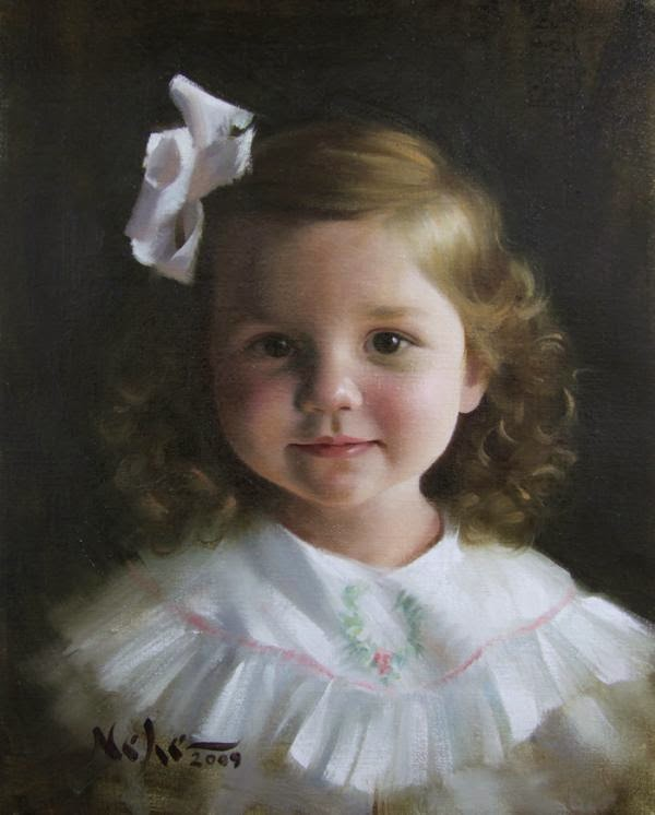 Mind-Blowing Children Paintings by Brian Neher