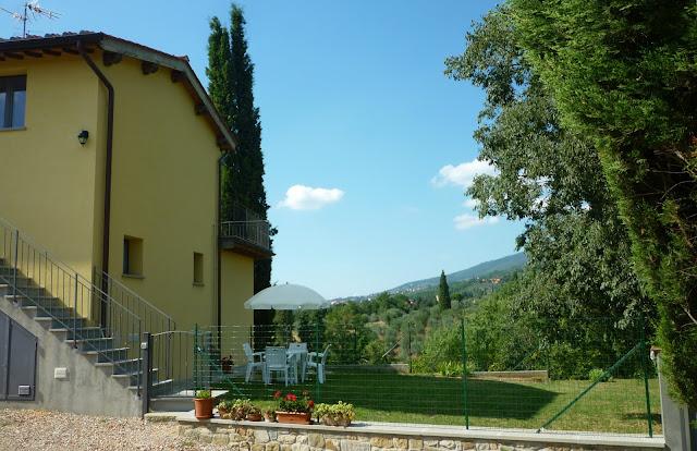 appartamento in Toscana con piscina privata