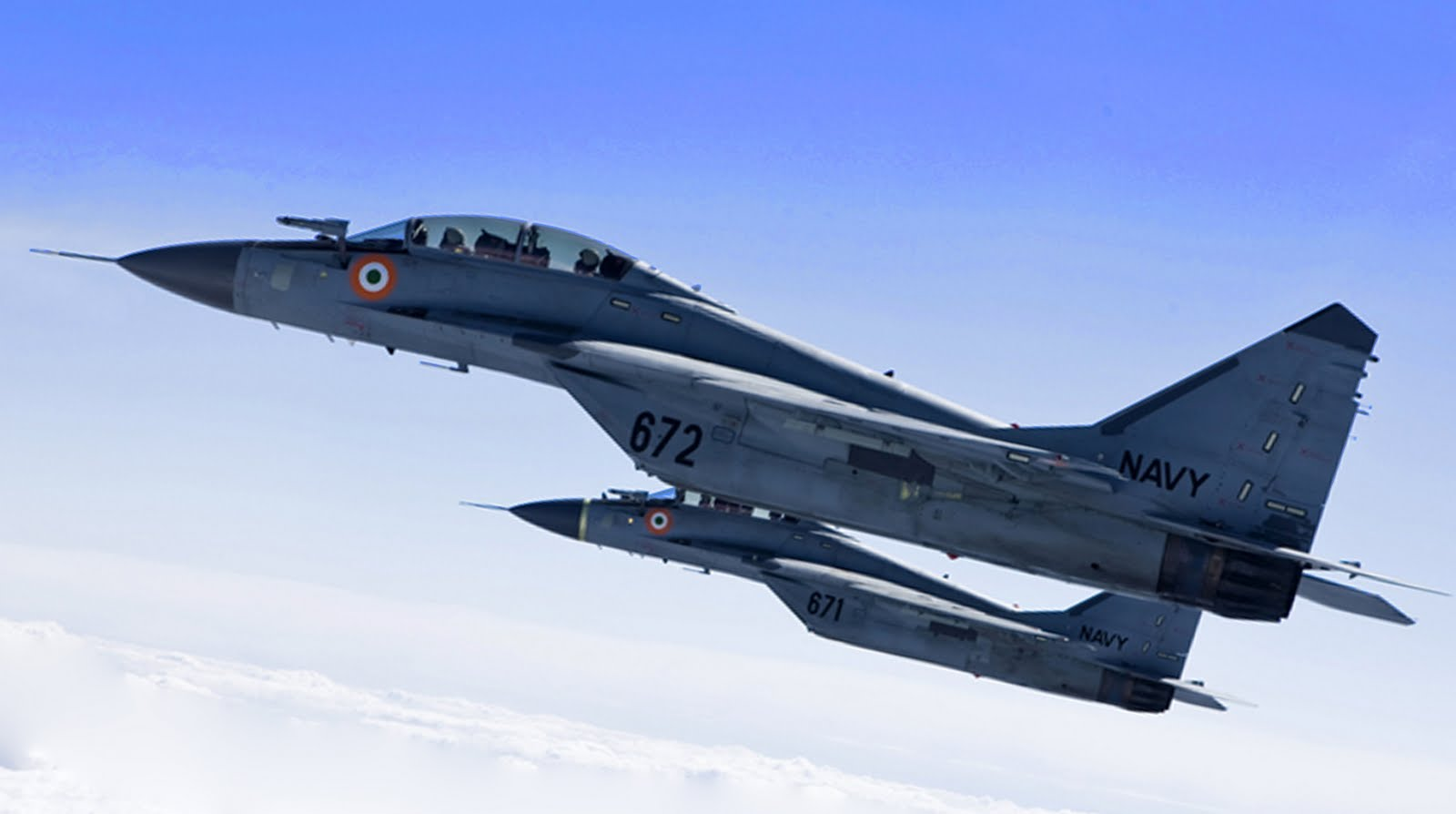 IAF MiG-29 Fighter Aircraft Crashes in Western India