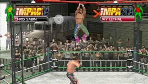 Tna Impact Cross The Line Download Game Psp Ppsspp Psvita Free