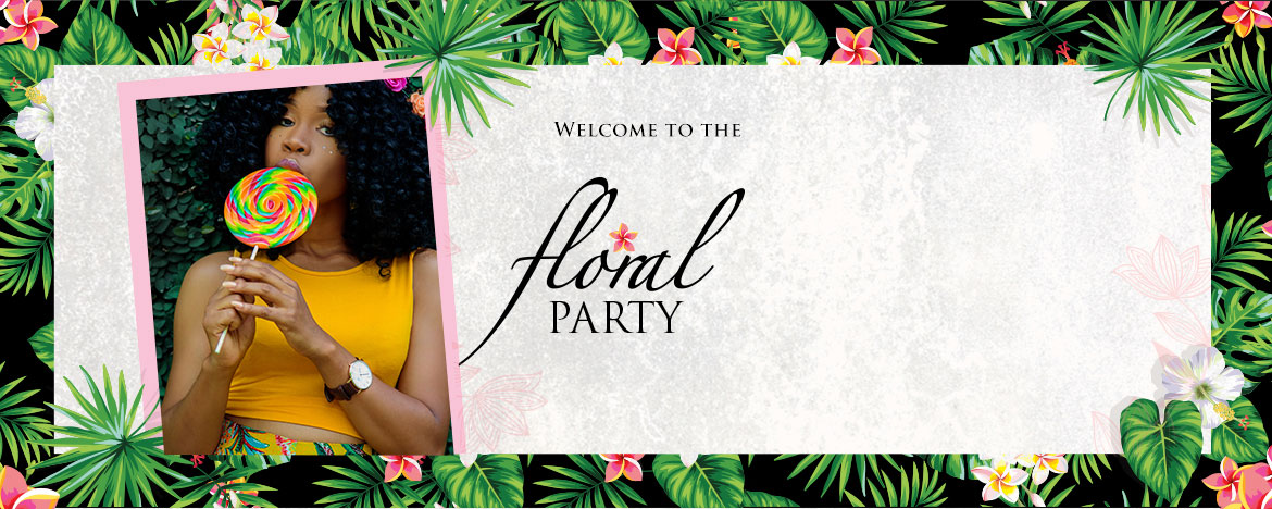 HOSTING A FLORAL PARTY LOOK WITH JUMIA