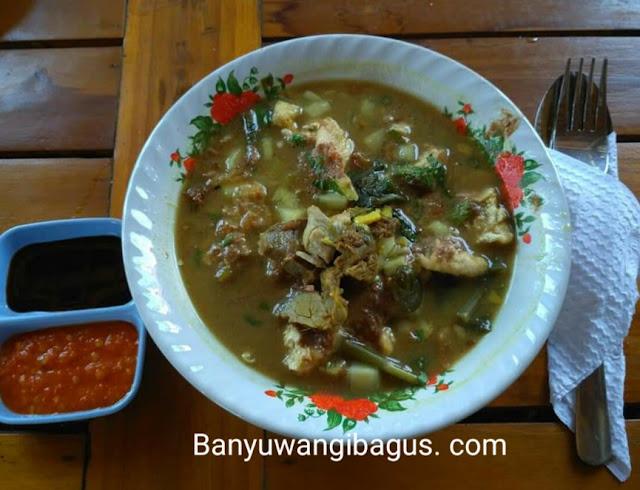 Rujak Soto yang enak dan recomended di Banyuwangi.