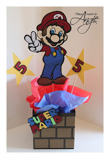 Scrappin Memories Mario And Luigi Centerpieces